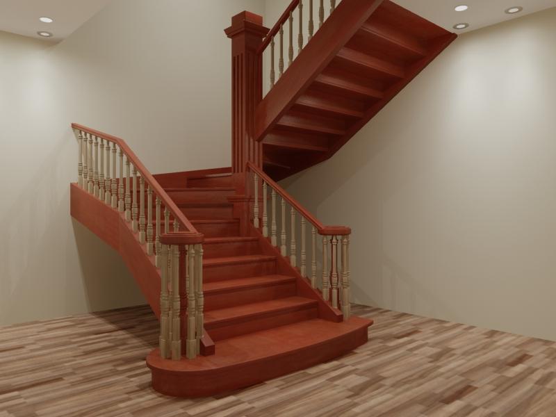 Лестница своими руками на 180